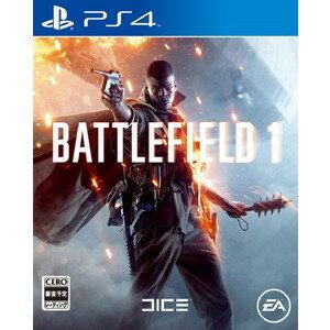 【ネコポス送料無料・発売日前日出荷】(初回封入特典付)PS4 バトルフィールド1 battle…