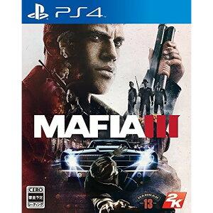 【ネコポス送料無料・発売日前日出荷】(初回封入特典付)PS4 マフィア3 (10.27発売) …