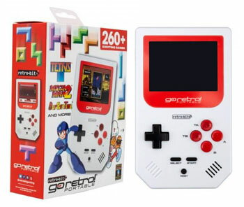 Go Retro Portable ゴーレトロ ポータブルゲーム クラシック260ゲーム収録!約10時間のロングプレイ!