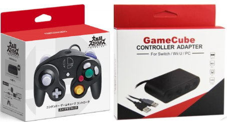 Nintendo Switch, 周辺機器 7102 SwitchWii UPC GameCube