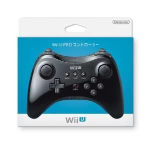 キャッシュレス5%還元新品 【Wii U】PROコントローラ【クロ】★任天堂純正品 外箱少し色はげ、痛み有り メール便不可です。宅配便のみで発送です。