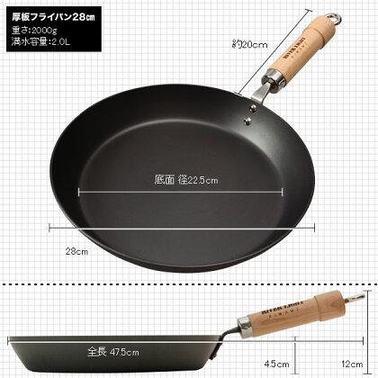 *◆★ポイント10倍★[日本製]究極の鉄フライパンリバーライト極シリーズザ・オムレツ28cm