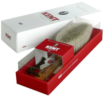 [KENT] ケント 高級静電気除去洋服ブラシ KNC-3422 ホコリや花粉対策に zk