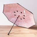 逆さに開く二重傘 おしゃれ傘 晴雨兼用 Circus サーカス【メール便は送料無料】