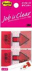 [ふせん]スリーエム ジャパン(株) 3M ポストイットジョーブメッセージポインター 684P-NH 1PK【436-0524】