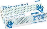 [ビニール使い捨て手袋]日本製紙クレシア(株) クレシア プロテクガード プラスチックグローブ Mサイズ 69250 1箱(100枚)【495-3355】