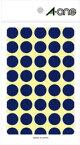 [ラベルシール]スリーエム ジャパン(株)文具・オ 3M エーワン カラーラベル 丸型 15mmΦ 青 07022 1PK【806-6557】