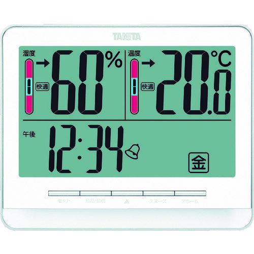 [温湿度計](株)タニタ TANITA デジタル温湿度計 TT‐538‐WH TT-538-WH 1個【765-8729】