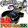 アンプ内蔵コンパクトなエレキギター超オトクな14点セット!/Pignose PGG-200 BK=BLACK(ブラック)+小物13点/PGG200【送料無料】【smtb-KD】【RCP】:-as-p2