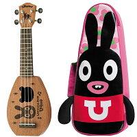 【あす楽対応】aNueNue(アヌエヌエ)ベビーソプラノウクレレ・ウーモデル「aNN-BabyU」RabbitBoat/かわいい専用ケース付属【送料無料】【smtb-KD】【RCP】:-as-p2