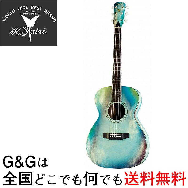 ギター, アコースティックギター K.YAIRI Compact Series YFP-02 ABL smtb-KDRCP