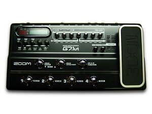 【ZOOM GUITAR EFFECTS CONSOLE】ZOOM 12AX7真空管真空管搭載マルチエフェクター「G7.1ut」【数...