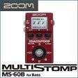 ZOOM(ズーム) MS-60B MultiStomp Bass Pedal ベース用マルチストンプペダル コンパクトボディーに有名エフェクターや高級アンプのサウンドを1台に凝縮!【送料無料】【smtb-KD】【RCP】:-p5