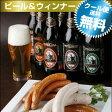 日本人唯一の世界ランカー(世界ランク3位)職人が作るウインナー&金賞地ビールB(4-5人向)【送料無料】地ビール おつまみ セット
