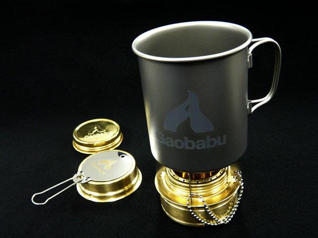 ガオバブ(Gaobabu)☆Gaobabuチタンマグカップ 400ml