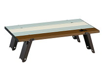 ロゴス(LOGOS)☆LOGOSLifeロール膳テーブル(ヴィンテージ)