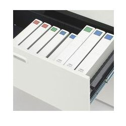 D400スチール保管庫下置き用ラテラルキャビネットB43段ベース付L6-A105H-3ホワイトW900・H1100安心設置までサービス(代引決済不可商品)