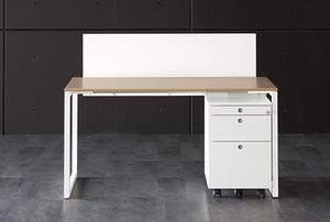 ホオフィス家具ファントーニオークFantoniGXデスクW1400×D700×H620-850mm(高さ調節脚パソコンデスク)GX-147HJ