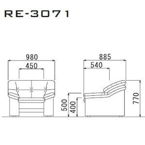 RE-3071寸法図