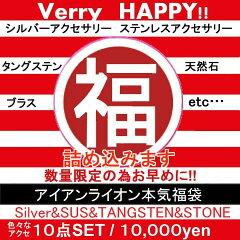 数量限定!5万円以上の商品が入った福袋です!!福袋 メンズ IRONLION 壱万円 本気福袋/シルバ...