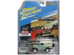 JOHNNY LIGHTNING classic gold collection 1980 Toyota Land Cruiser 2017 Series MiJo Exclusive ジョニーライトニング