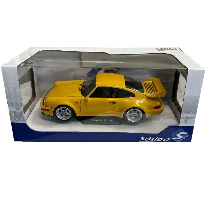 車, ミニカー・トイカー SOLIDO PORSCHE 911 3.8 RS Yellow 118