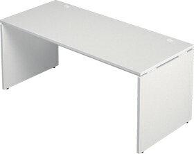 Garage木製パソコンデスク幅160cm奥行き70cmAFデスクAF−167H白ホワイト
