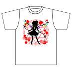 送料無料 同人オリジナル 東方Project 東方 【フランドール・スカーレット シルエット】Tシャツ