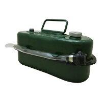 ガソリン携行缶3L[緑・UN規格・消防法適合品]ガソリンタンク亜鉛メッキ鋼板*送料無料(北海道・沖縄・離島は除く)