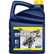 Putoline オフロードバイク用 4サイクルエンジンオイル 4L [TM OFF ROAD 4] 10W-40 SL(MA2) 部分合成油/セミ合成油