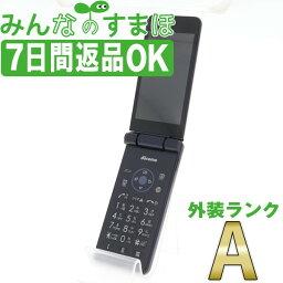 【中古】 SH-01J AQUOS ケータイ Blue Black 【SIMフリー】 本体 ドコモ Aランク ガラケー シャープ 【あす楽】 【保証あり】 【送料無料】 sh01jbk8mtm