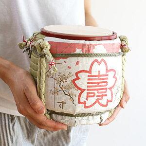 菰樽ミニ鏡開きセット櫻守岸本吉二商店