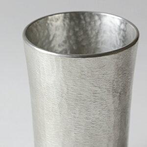 名入れ錫製タンブラースタンダード中大阪錫器桐箱入ビールグラスビアグラスビアカップ父の日還暦祝い退職祝い内祝いギフト記念品プレゼント母の日