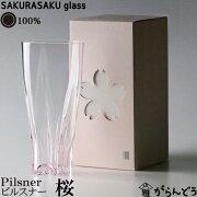サクラサクグラス SAKURASAKU ピルスナー タンブラー