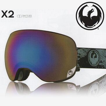 【送料無料】16-17 DRAGON/ドラゴン X2 GIGI SIGNATURE ギギシグネーチャー メンズ レディース スノーボードゴーグル スキー