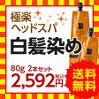 ◆ 白髪染め レフィーネ ヘッドスパ トリートメントカラー(お試しサイズ80g・ダークブラウン)2本セット