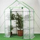 ビニール温室 約0.3坪タイプ温室セミグリーンジャンボ グリ