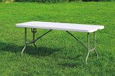 折りたたみテーブル(作業台/ワークデスク) 1830×770×H740 YCZ-183Z キャンプ BBQ レジャーテーブル アウトドアテーブル 作業テーブル 折り畳みテーブル