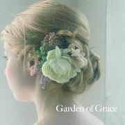 ウエディング アクセサリー ウエディングヘッドドレス・ヘアコサージュ ーティー ガーデン シリーズ ナチュラル