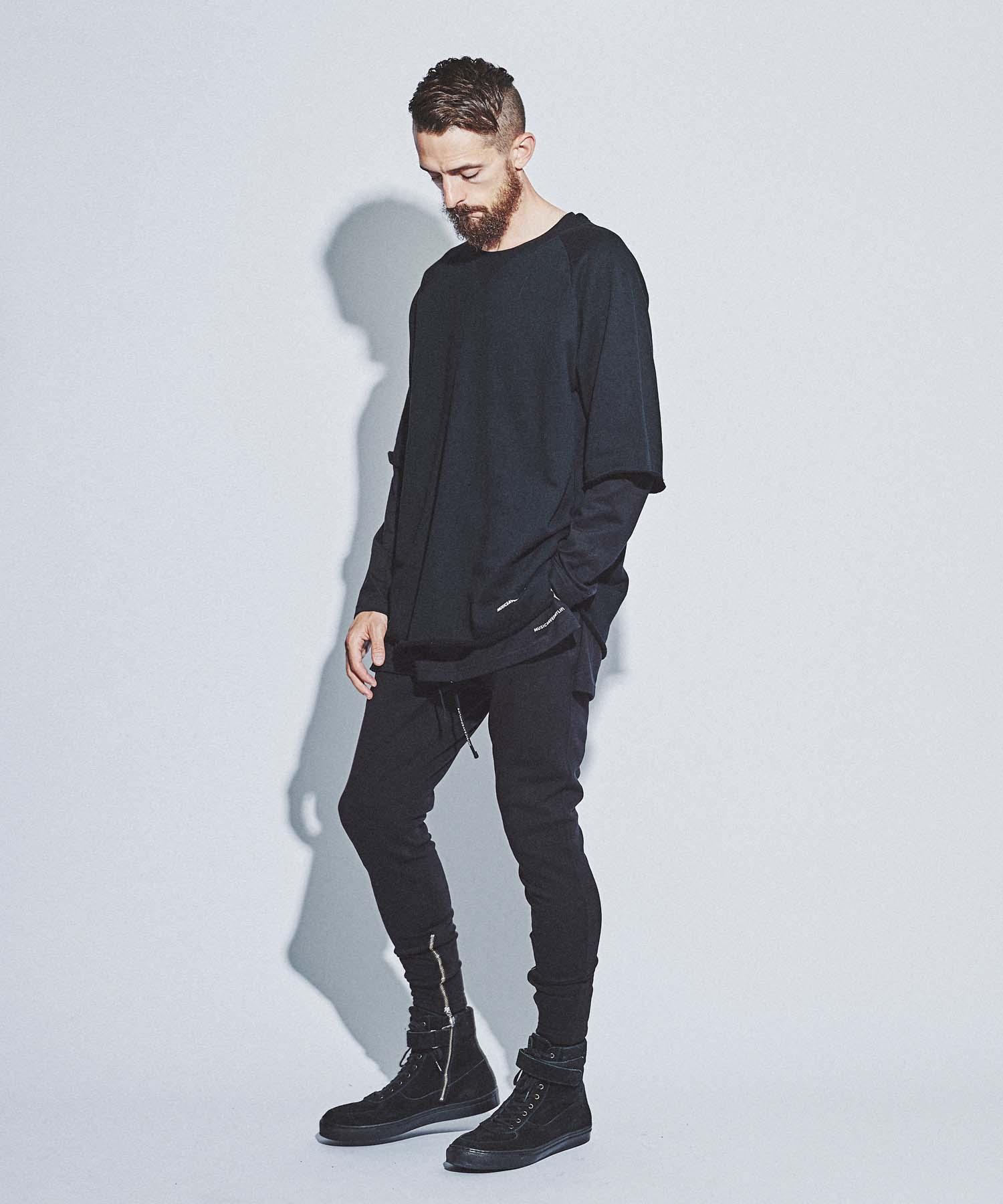 メンズファッション, ズボン・パンツ SALE MSML ZIP SWEAT PANTS M21-02L5-PL06 coldrain Katsuma