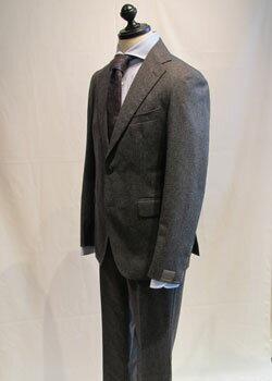 TAGLIATORE タリアトーレグレーフランネルシングルブレストスーツ【2SVJ22B01/18UIZ064】