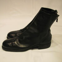 ブーツ, その他 GUIDI mensBACK ZIP BOOT SOLE LEATERHORSE FULL GRAINBLKT 986X HORSE FULL GRAIN