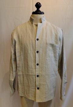 トップス, カジュアルシャツ 50Berg fabel shirt jacket grey stripeBFmsh32606