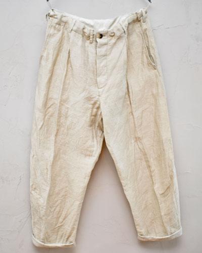 ボトムス, パンツ 30FORME dexpression 21ss Baggy Casual Pants NATTURAL HP030 LICN WWOMENSMENS