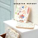 QUARTER REPORT マルチケース 母子手帳ケース W18×H23cm 岡理恵子 クォーターリポート パスポート おしゃれ かわいい 便利