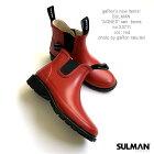 【SULMAN】AGNESサイドゴアレインブーツサルマンレインシューズショートブーツ風赤長靴ユニセックスインポート