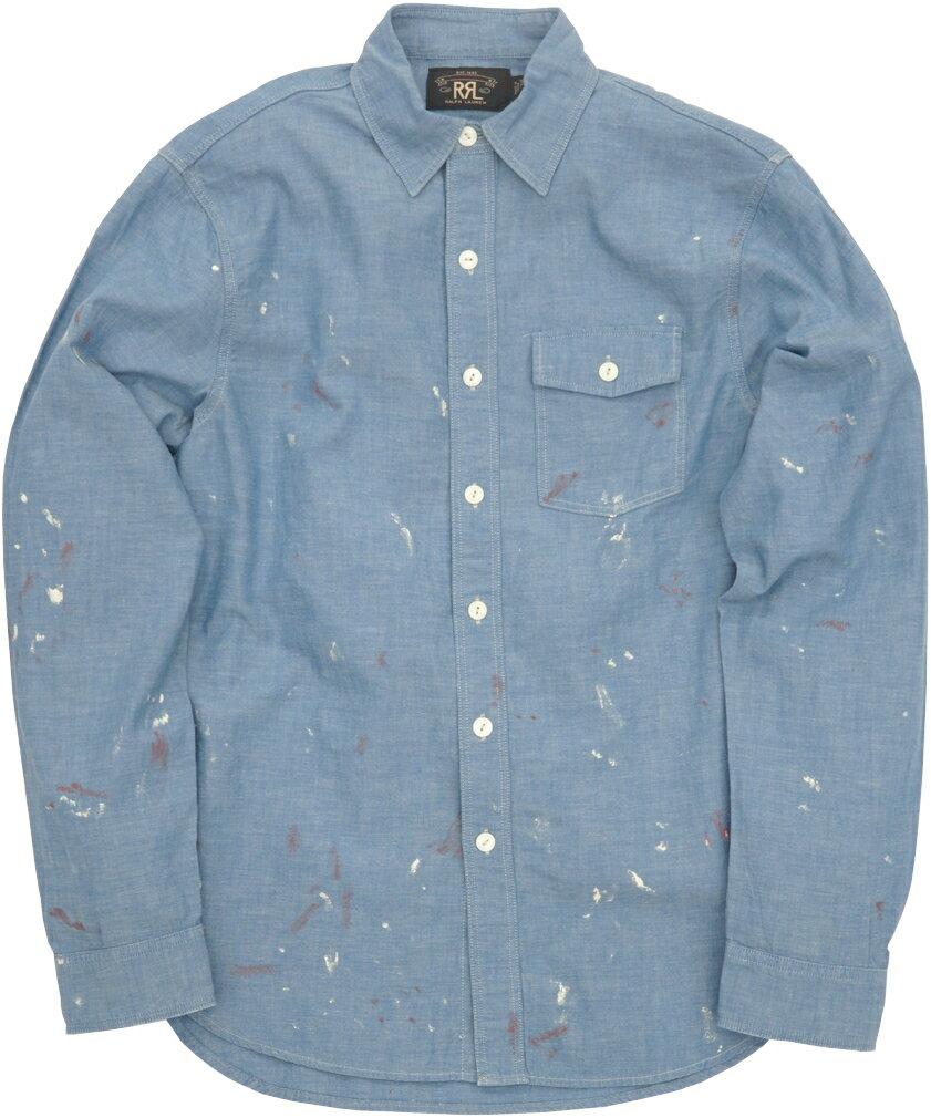 トップス, カジュアルシャツ () RRL Painted Chambray Workshirt