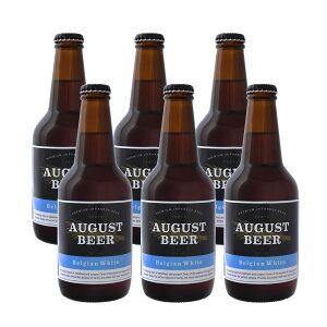 アウグスビール ホワイト 330ml 6本セット AUGUST BEER