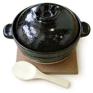炊飯土鍋「伊賀焼かまどさん」2合炊きCT-03【送料・代引手数料無料】