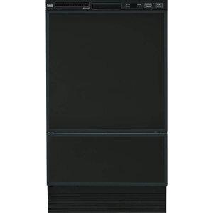 リンナイ ビルトイン食洗機 フロントオープン ブラック RSW-F402C-B [80-7480]《特定保守製品》